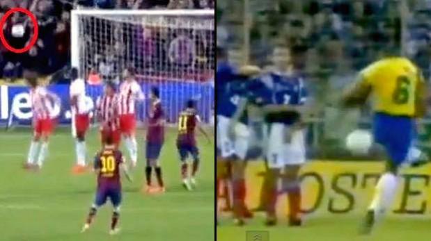 Gol de Messi es comparado con el de Roberto Carlos a Francia