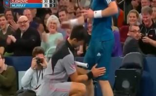 Djokovic y el show que armó en el Madison Square Garden