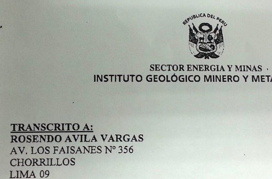 Un chofer obtuvo las concesiones mineras vinculadas a Omonte