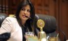 Carmen Omonte afirma que no renunciará al ministerio