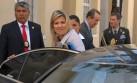 La reina Máxima de Holanda inició visita oficial en el Perú