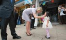 El paseo de la Reina Máxima de Holanda por calles de Huaycán