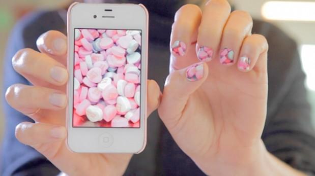 Crean aplicación que convertiría tus fotos en una manicure