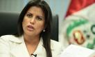 Carmen Omonte dice que no le incómoda aspiración de Solórzano