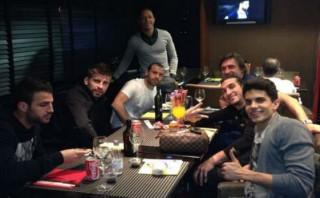 Así festejaron en Twitter los jugadores del Barcelona