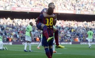 Alexis, el segundo chileno con más goles en Liga española