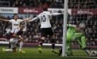 Con doblete de Rooney, Manchester United venció 2-0 al West Ham