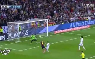 Iniesta marcó este golazo en el clásico Real Madrid-Barcelona