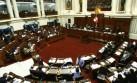 Congreso: los 5 temas 'calientes' de la agenda parlamentaria