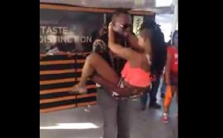 Usain Bolt causa furor en carnavales con baile erótico