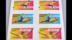Zlatan: sus estampillas causan furor en servicio postal sueco