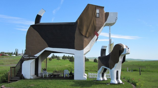 Pasa una noche dentro del beagle más grande del mundo