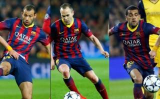 Jugadores del Barcelona se muestran optimistas en el Twitter
