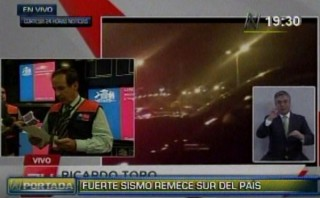 Terremoto en Chile: caótica evacuación en Arica y Antofagasta