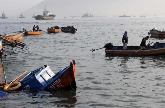 Iquique, la mañana siguiente al terremoto de 8,2 grados
