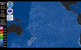 Terremoto en Chile: así fue el tsunami que provocó
