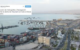 Alarma de tsunami fue levantada en el litoral del Perú