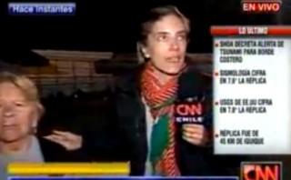 Chile: el terremoto de 7,4 grados captado por una cámara de TV