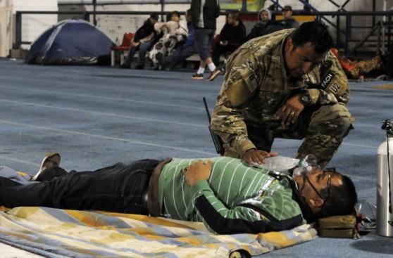 Chile: Noche de angustia por las fuertes réplicas del terremoto