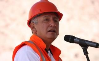 René Cornejo supervisa los daños ocasionados por sismo