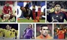 Brasil 2014: jugadores que se perderían el Mundial por lesión