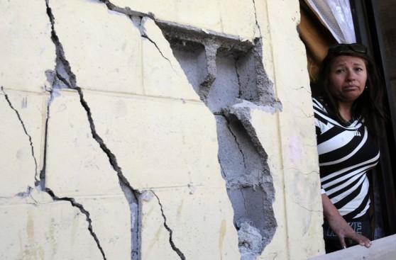 Zona del terremoto de Chile sigue en estado de catástrofe