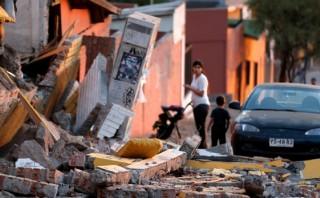 Terremoto en Chile: Una bebe de seis días murió en la calle