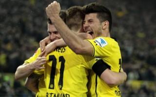 Dortmund venció 2-1 al Wolfsburgo y ya piensa en Real Madrid