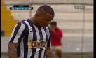Otra vez Wilmer Aguirre falla un gol cantado con Alianza