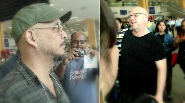 Pixies ya está en Lima para concierto de mañana