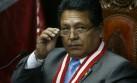 Ramos tras elección: No tengo impedimentos éticos ni jurídicos