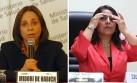 Fujimorismo interpelará a ministras de Salud y de Trabajo