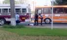 Joven con discapacidad murió tras ser atropellada por microbús