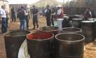 La policía decomisó más de S/.20 mil en combustible ecuatoriano