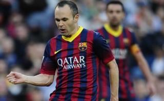 Andrés Iniesta dio más pases que todos los jugadores de Granada