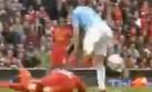 Directo a la canilla: la durísima falta en el Liverpool-City