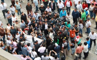 Inicio de juicio a Eva Bracamonte dependerá de huelguistas