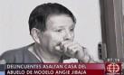 Asaltan vivienda de abuelo de la modelo Angie Jibaja