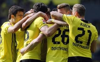 Con goles de Lewandowski y Reus, Dortmund goleó 4-2 al Mainz