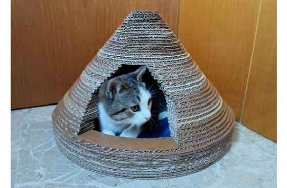Aprende a fabricar una divertida cama para tu mascota