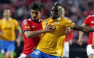 Juventus cayó 2-1 ante Benfica por semis de Europa League