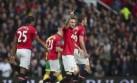 Manchester goleó 4-0 en el debut de Ryan Giggs como técnico