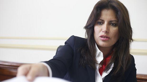 Comisión de Ética decidió no investigar a Carmen Omonte