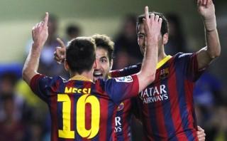 Barcelona remontó milagrosamente y ganó 3-2 al Villarreal