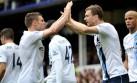 El City ganó 3-2 a Everton y es líder provisional de la Premier