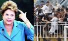 Brasil: Rousseff pide instalar comisarías en los estadios