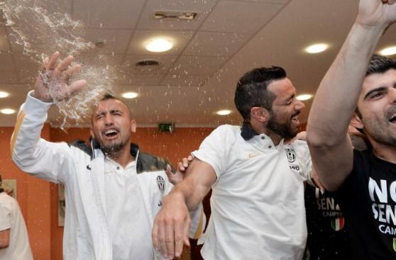 Así festejó la Juventus su título en Serie A sin haber jugado