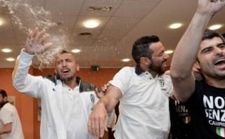 Juventus y el gracioso 'apanado' a su técnico Antonio Conte