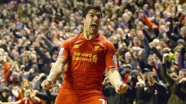 Luis Suárez es el mejor jugador del año de Inglaterra