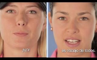 Sharapova, Ivanovic y otras bellezas en contra de la violencia